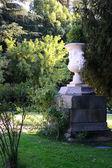 Большая ваза памятник в Мадриде — Стоковое фото