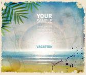 Summer journey — Stock Vector