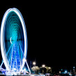 Ferris wheel in the night — Stock Photo