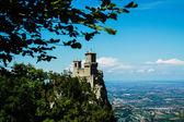Castle in San Marino — Stock Photo