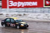Winter rally championship — Stock Photo