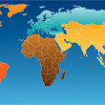 World map — Stock Vector #34970463