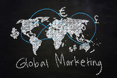 Global marketing — Stock Photo