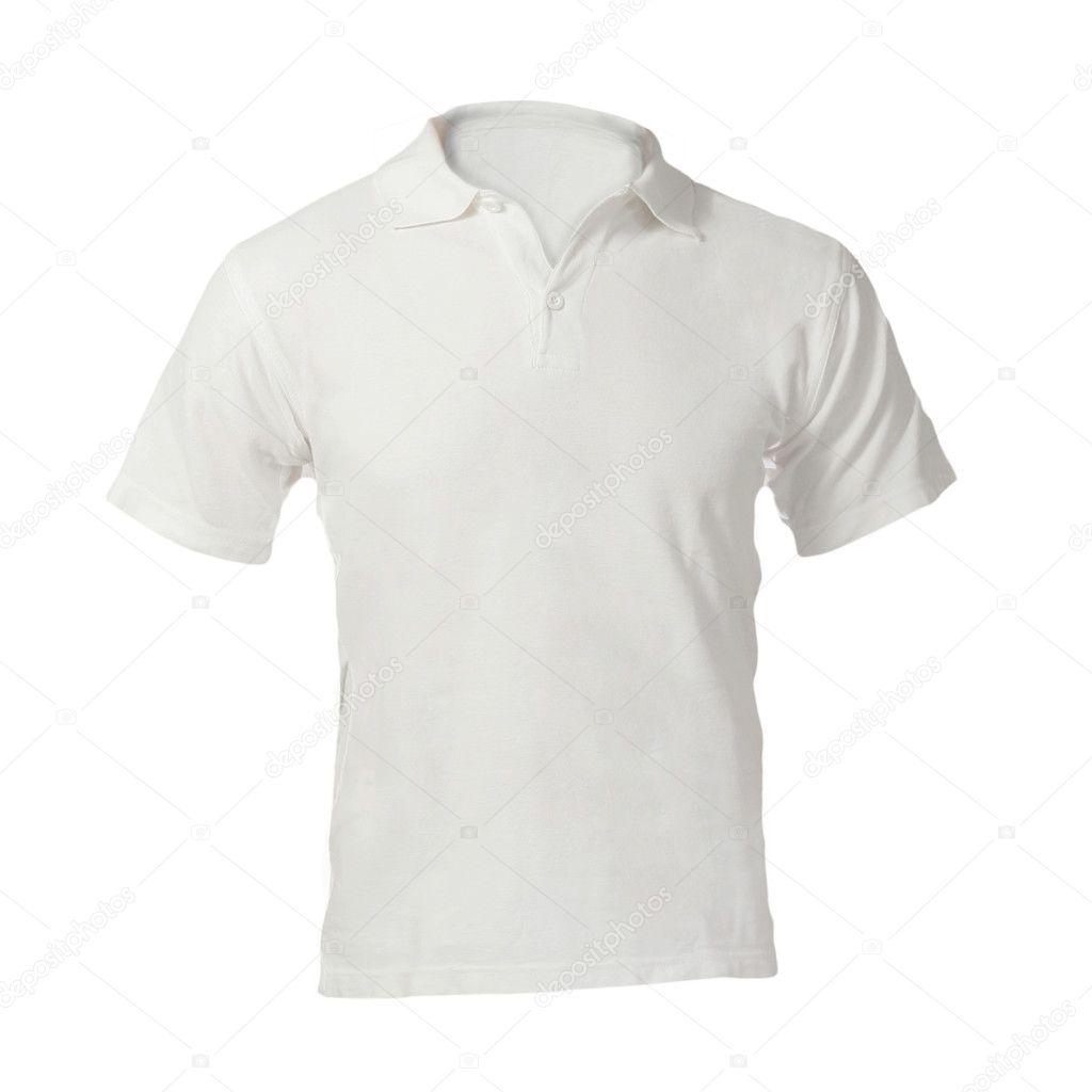 mod le vierge blanche polo shirt pour hommes photographie airdone 37674513. Black Bedroom Furniture Sets. Home Design Ideas