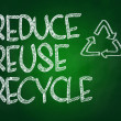 Reduce, Reuce, Recycle — Stock Photo #38039285