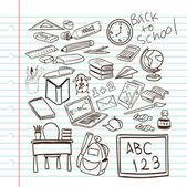 La rentrée scolaire — Vecteur