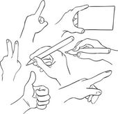 Hands — Stok Vektör