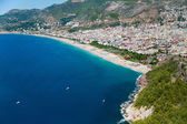 Beach in Alanya — Stock Photo