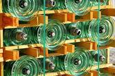 Elektriska transformatorstation — Stockfoto