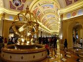 Interior of The Venetian Resort Hotel, Macao, China — Stock Photo