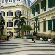 Stock Photo: St. Augustine church and square, Macau, China