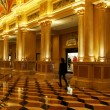 Interior of The Venetian Resort Hotel, Macao, China — Stock Photo