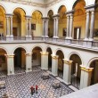 Interior of Museum of Fine Arts, Budapest, Hungary - Stock Photo