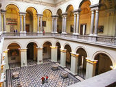 Interior of Museum of Fine Arts, Budapest, Hungary — Stock Photo