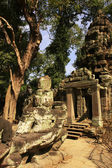 Entrance of Preah Khan temple, Angkor area, Siem Reap, Cambodia — Stock Photo