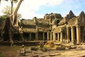 Preah Khan temple, Angkor area, Siem Reap, Cambodia — Stock Photo