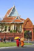 Wat Ounalom, Sisowath Quay, Phnom Penh, Cambodia — Stock Photo