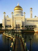 Sultan Omar Ali Saifudding Mosque, Bandar Seri Begawan, Brunei — Stock Photo