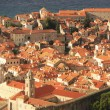 Rooftops of Old Town, Dubrovnik, Croatia — Stock Photo