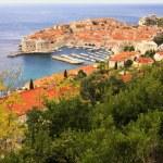 Old Harbour at Dubrovnik, Croatia — Stock Photo #24488985