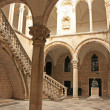 Atrium, Rector's palace, Old Town, Dubrovnik, Croatia — Stock Photo #24581497
