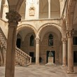 Atrium, Rector's palace, Old Town, Dubrovnik, Croatia - Stock Photo