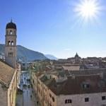 Stradun, Main street of Old Town, Dubrovnik, Croatia — Stock Photo
