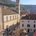 Onofrio's Fountain, Old town of Dubrovnik, Croatia — Stock Photo #24628909