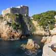 St. Lawrence Fortress, Dubrovnik, Croatia — Stock Photo