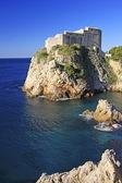 St. Lawrence Fortress, Dubrovnik, Croatia — Stock Photo