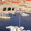 Old Harbour at Dubrovnik, Croatia — Stock Photo