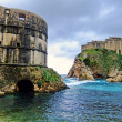 Fort Bokar and St. Lawrence Fortress, Dubrovnik — Stock Photo