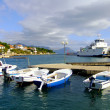 Stock Photo: Waterfront of Hvar town, Hvar island, Croatia