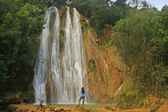 El Salto de Limon waterfall, Dominican Republic — Stock Photo