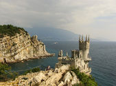 Swallow's nest castle, Crimea, Ukraine — Stock Photo