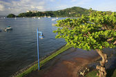 Promenade of Samana town — Stock Photo