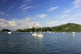 Bucht von samana, dominikanische republik — Stockfoto