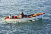 サマナ湾の漁船 — ストック写真