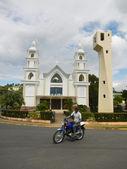 Erste afrikanische wesleyan methodistische kirche von samana — Stockfoto