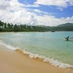 Rincon beach, Samana peninsula — Stock Photo #25906591