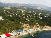 View of Simeiz, Crimea — Stock Photo