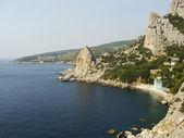 Rock Koshka, Simeiz, Crimea — Stock Photo