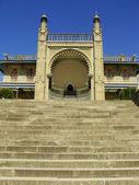 Southern facade of Vorontsov palace, Alupka, Crimea — Stock Photo