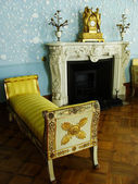 Blue room, interior of Vorontsov palace, Alupka, Crimea — Stock Photo