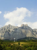 Ai-Petri mountains, Crimea peninsula, Ukraine — Stock fotografie