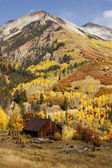 Old barn near Telluride, Colorado — Stock Photo