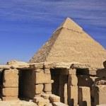 Pyramid of Khafre, Cairo — Stock Photo #29801757