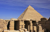 Pyramid of Khafre, Cairo — Stock Photo