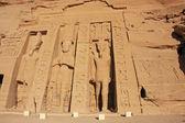 Nefertari Temple, Abu Simbel, Nubia — Stock Photo