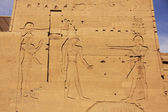 Wall carving, Philae Temple, Lake Nasser — Stock Photo